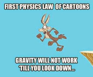 First law of physics