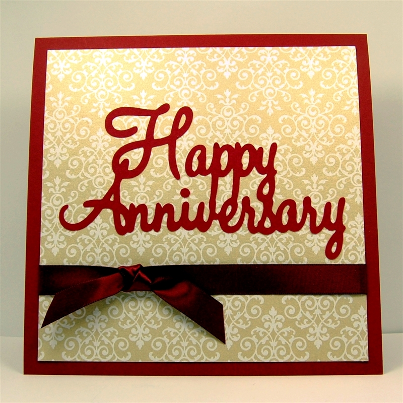 how to make anniversary card for husband