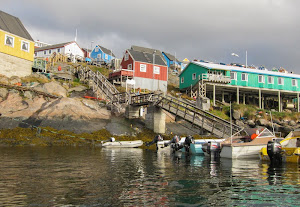 House on the hill, northern Labrador