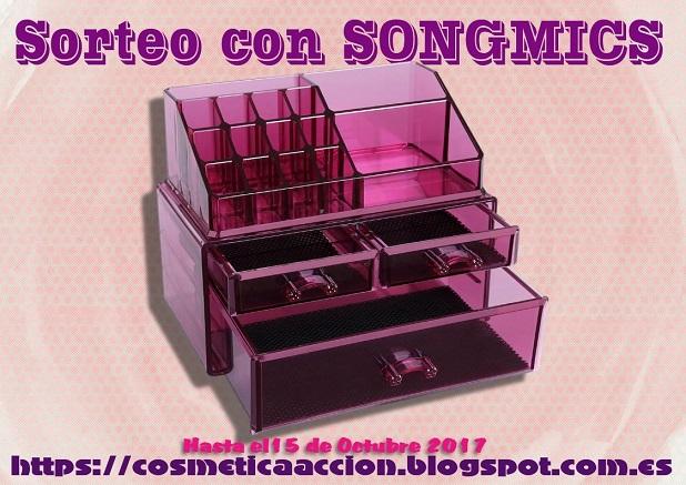 ¡SORTEO – Organizador de Maquillaje de SONGMICS!