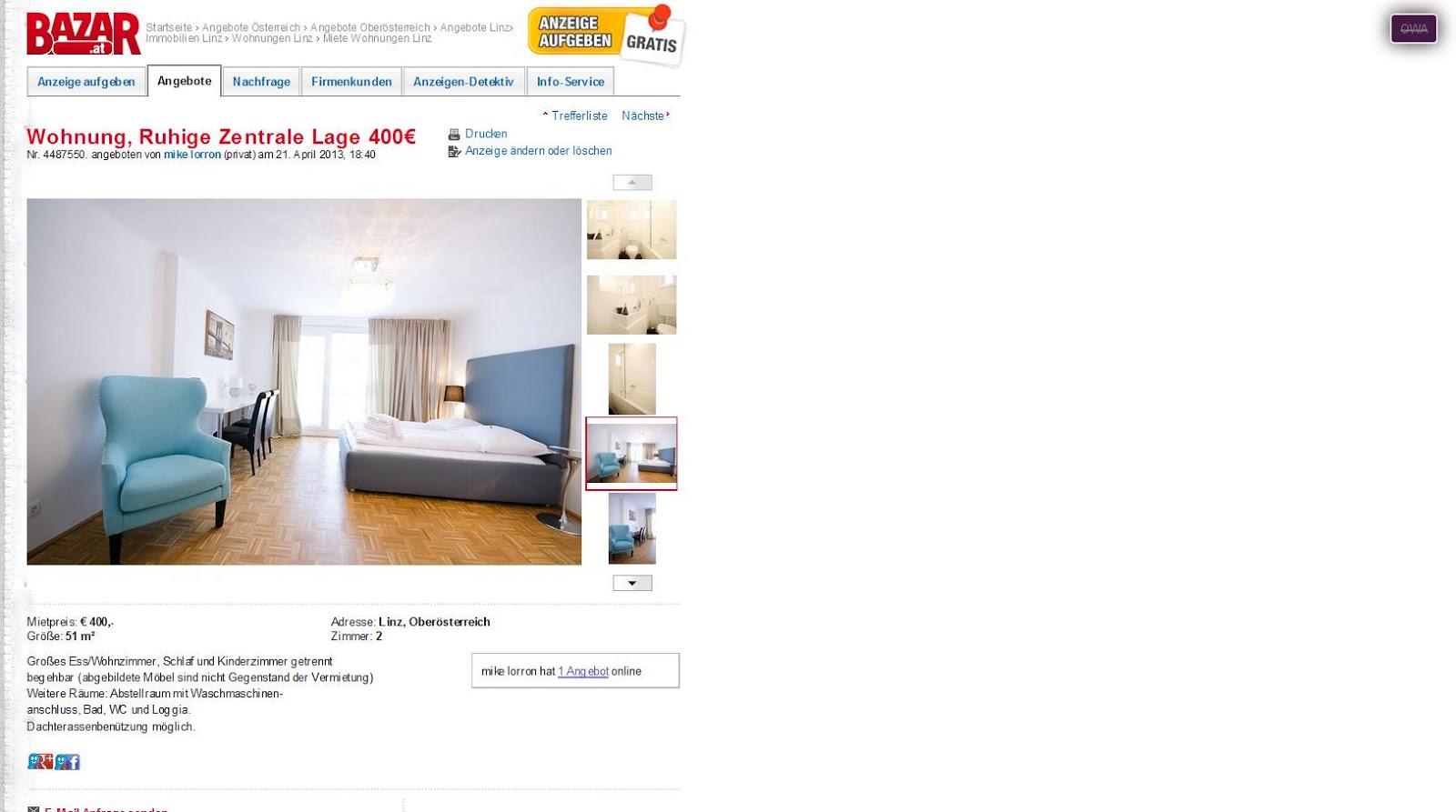 wohnungsbetrug2010 | *Gegen Wohnungsbetrug *against rental scammers ...