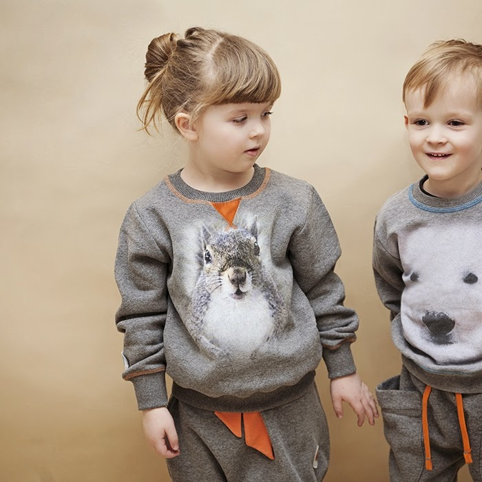 Cool streetwear for kids in monochrome by Polish WataCukrowa