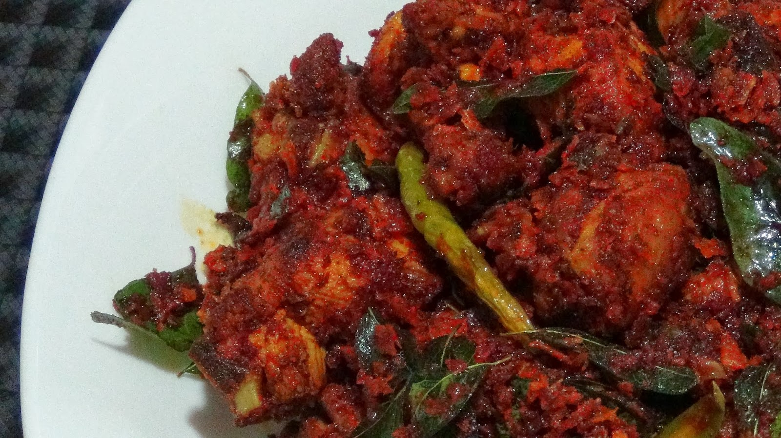 RECIPESMINE: PAYYOLI CHICKEN FRY
