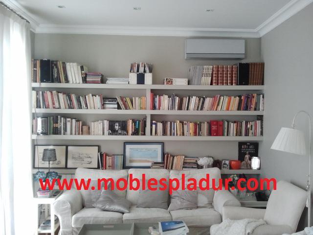 Pladur barcelona estanterias pladur estilo colonial - Estanterias pladur ...