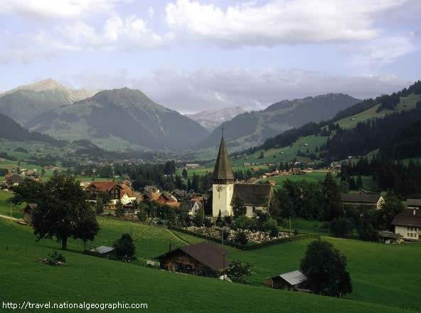 Um passeio pelos Alpes Suíços / A tour of the Swiss Alps