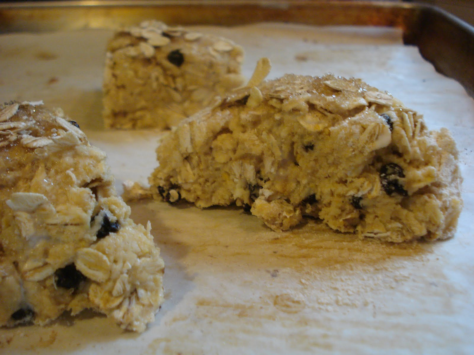 Oat and Orange Scones ( adapted from 101 Cookbooks)