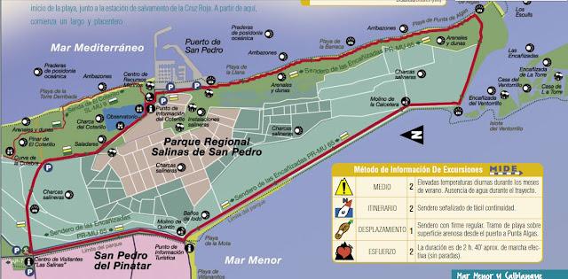 PR-MU65 Sendero de las encañizadas
