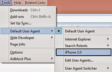 user-agent-for-iOS-Android-Windows-for-firefox