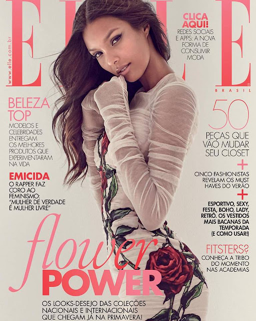 Model @ Lais Ribeiro by Gustavo Zylbersztajn for Elle Brazil, September 2015