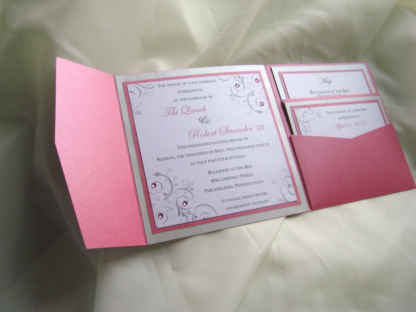 Pocket Fold Wedding Invitations was amazing invitations template