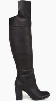 Schutz coleção inverno 2014 bota preta de couro cano alto