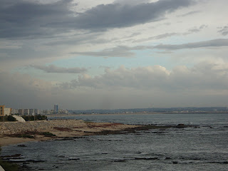 Evening sea photo - Figueira da Foz - Portugal