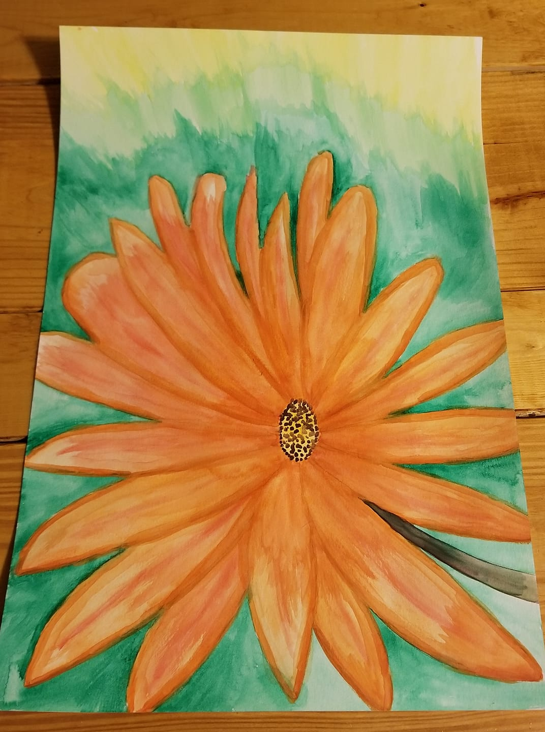 """""""Orange Flower"""""""