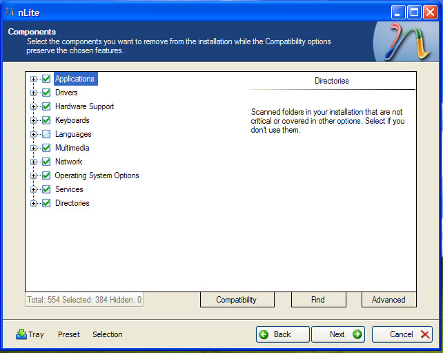 windows XP customize installation disc 07