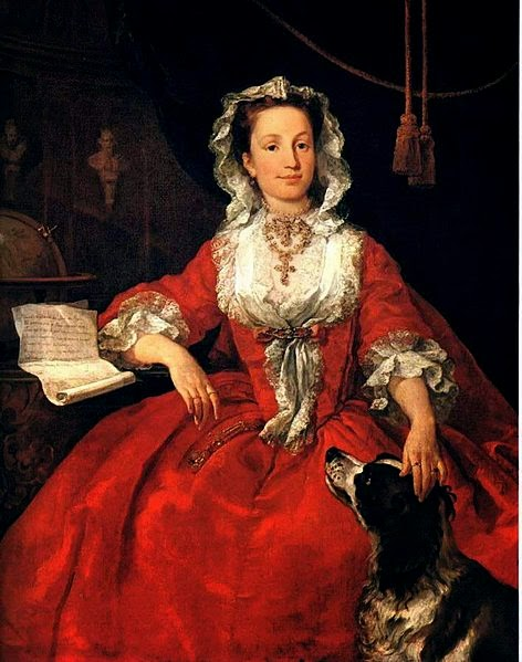 Miss Mary Edwards by William Hogarth, 1742