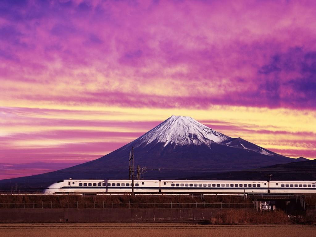 Foto: Tren bala, Japón