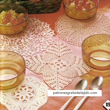 Patrones de tapetes crochet