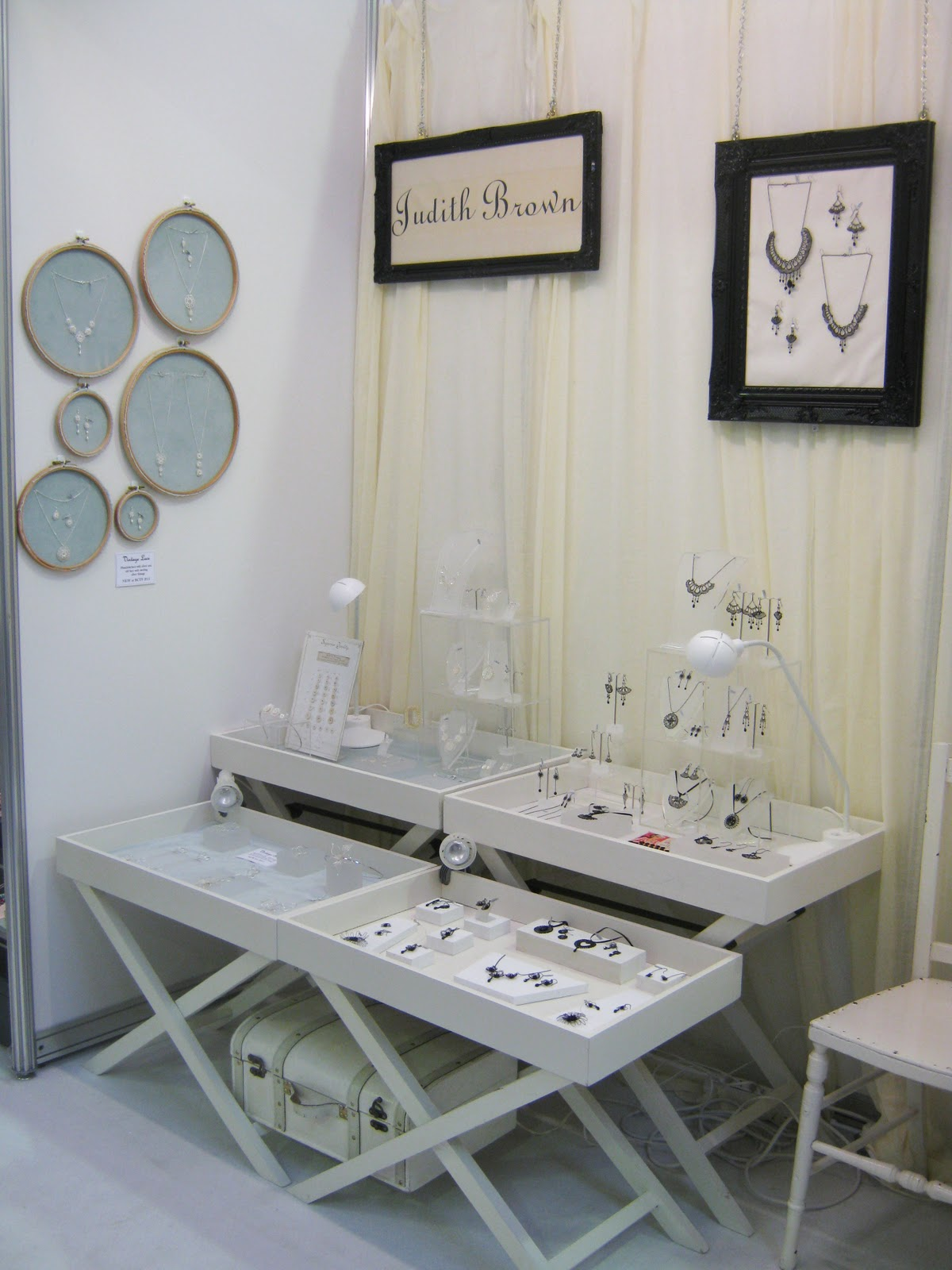 Trade Jewellery Stands : Judith brown jewellery british craft trade fair