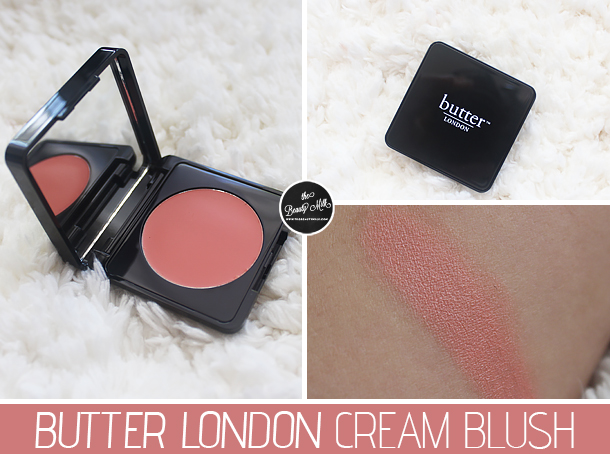 butter london cream blush honey pie review swatch