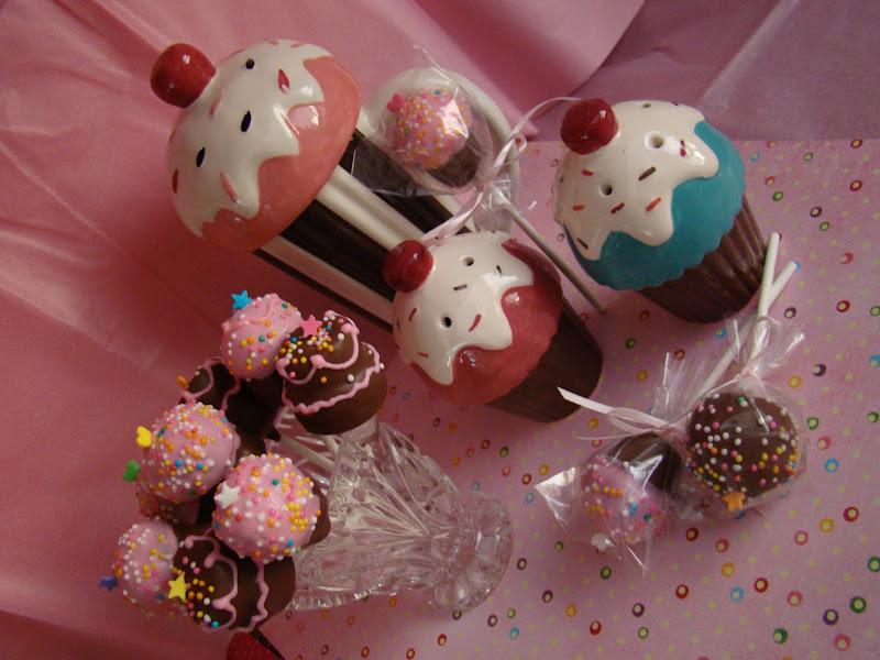 Sweetbakedlove Birthday Cake Pops
