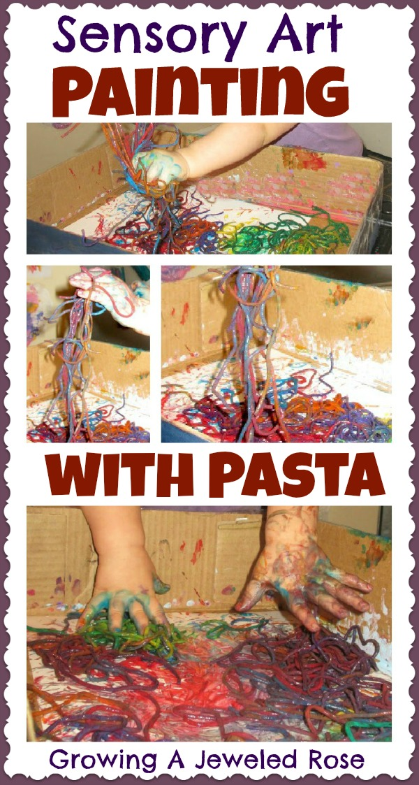 paint with pasta