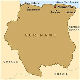 Fakta tentang Suriname