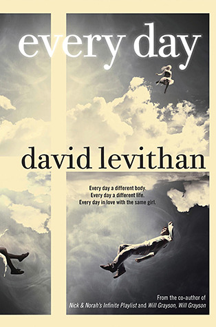 Every Day David Levithan book cover