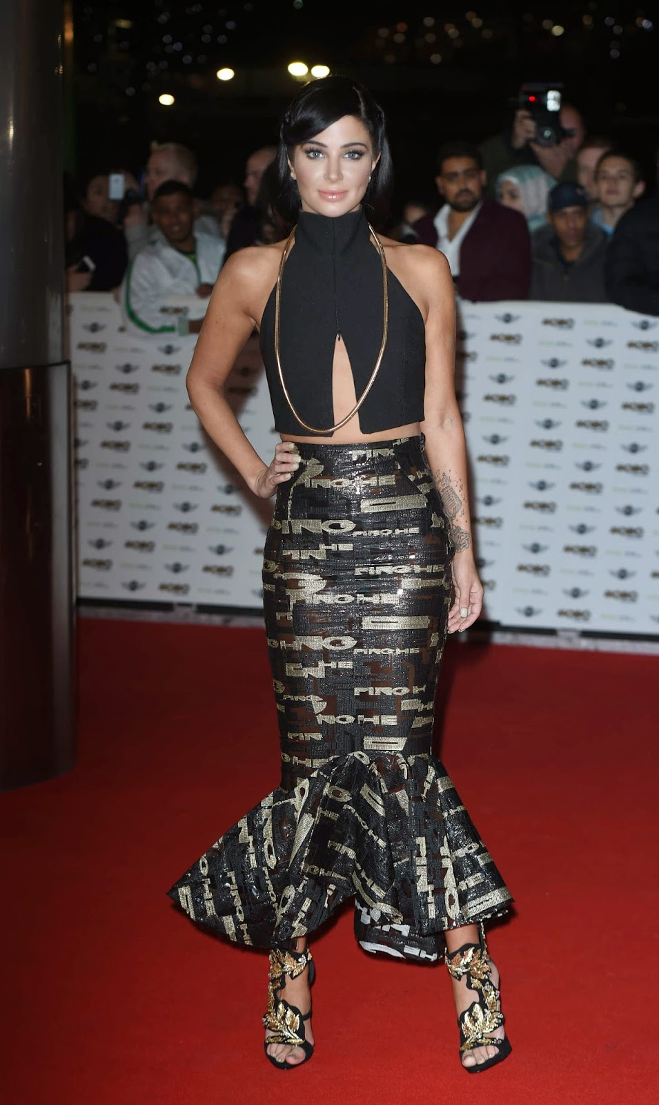 Tulisa Contostavlos – MOBO Awards in London