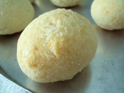 Pão de queijo da leitora do blog.
