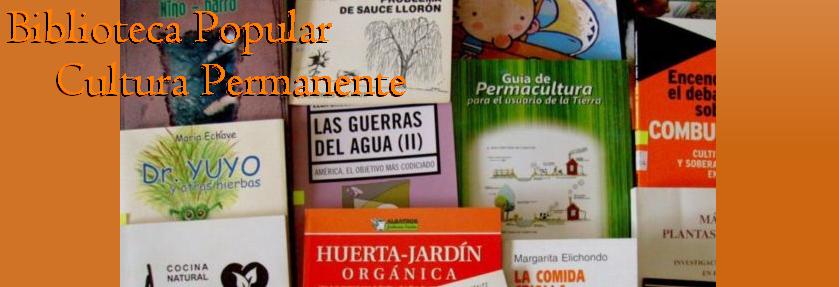 Biblioteca Popular Cultura Permanente