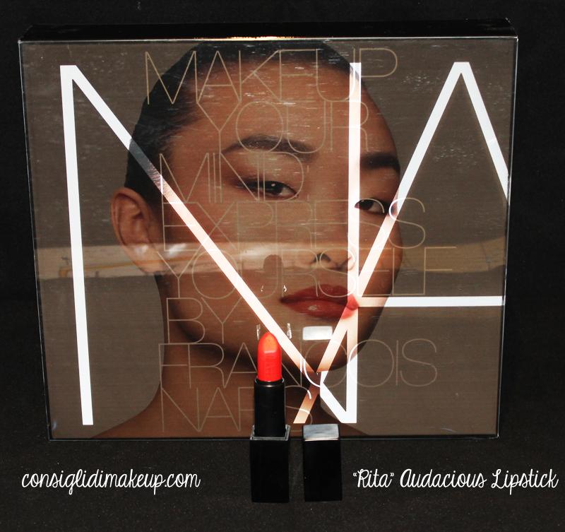 Review: Audacious Lipstick Rita - Nars Cosmetics