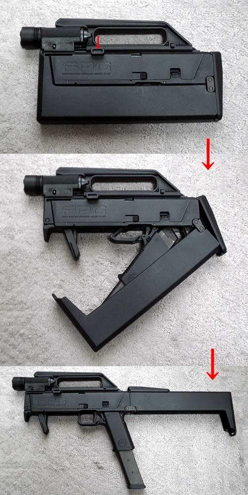 fmg9 folding machine gun