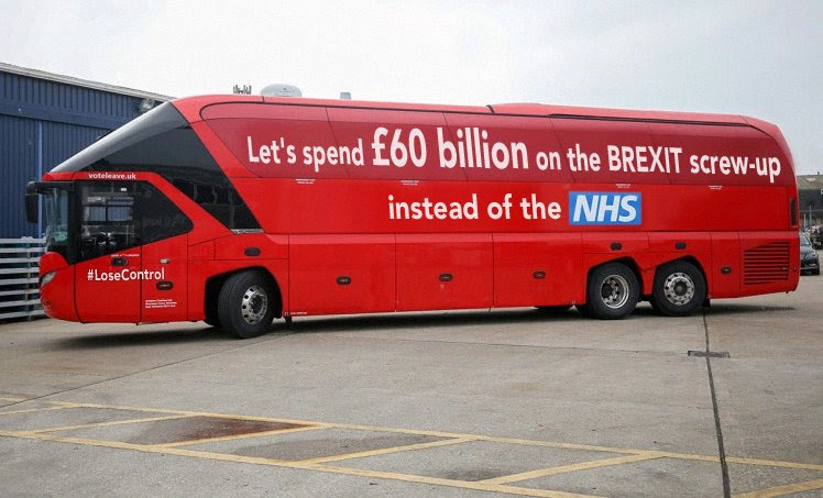 Let's spend £60 billion on the Brexit screw-up instead of the NHS
