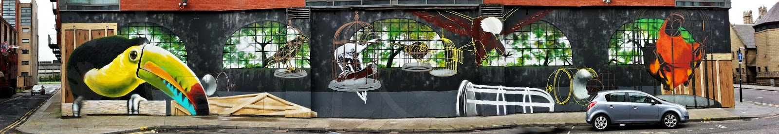 Howard St mural, Rogue-One , Glasgow