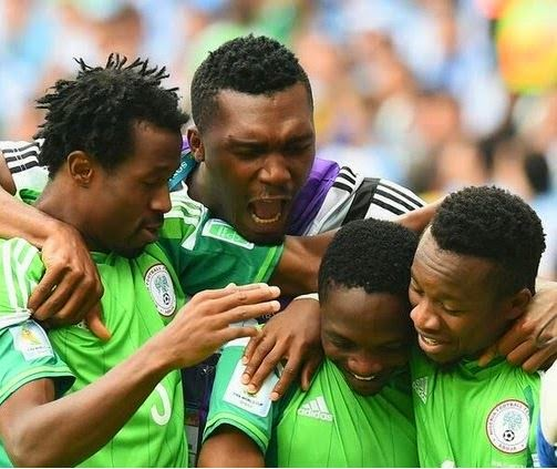 The Super Eagles of Nigeria Qualifies for 2nd Round of the World Cup in Brazil