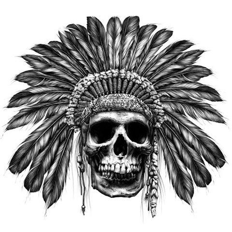 Skull War Bonnets