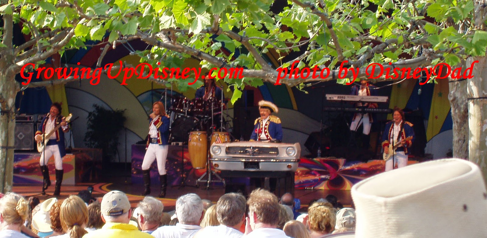 Paul Revere and the Raiders at EPCOT