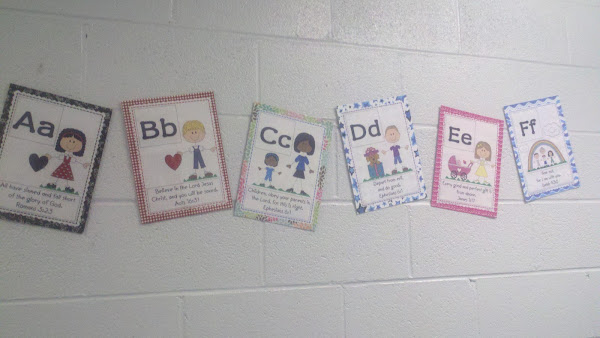 ABC Bible Memory Verses for Kids