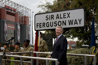 Legendary ; Streets are now been Named after Sir Alex Ferguson.
