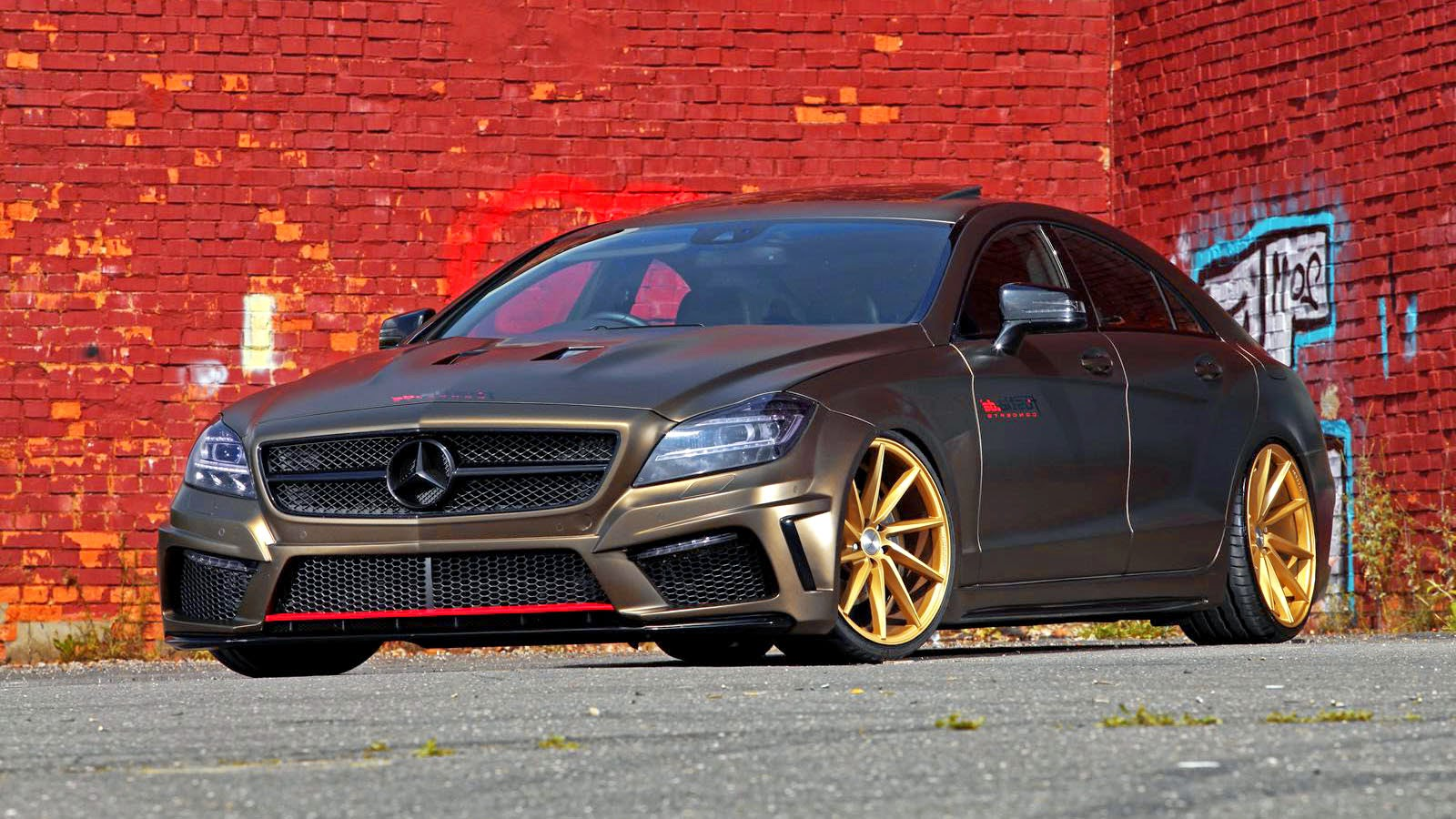 Mercedes Benz CLS 350 CDI Modified  Concept Sport Car Design