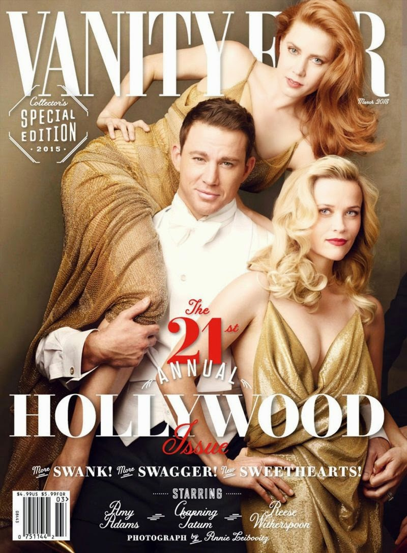 Actress, Singer: Amy Adams, Reese Witherspoon, Felicity Jone for Vanity Fair USA
