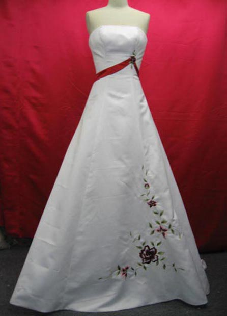Simple wedding dresses made from silkworms Simple wedding dresses