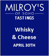 Milroy's Whisky & Cheese Tasting
