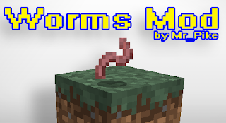Worms Mod para Minecraft 1.8
