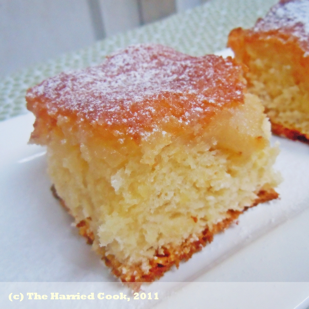 The Harried Cook: St. Louis Gooey Butter Cake