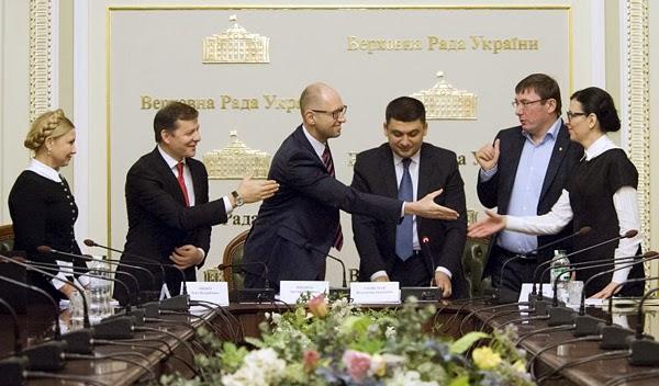 Демократические партии подписали коалиционное соглашение