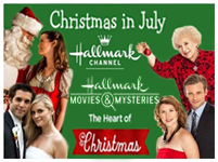 Hallmark 39 s christmas in july schedule for Hallmark channel christmas in july