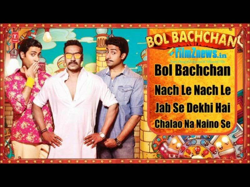 Bol Bachchan Full Songs  Ajay Devgan, Abhishek Bachchan