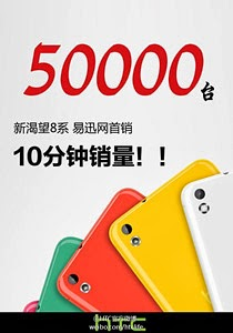 50,000 HTC Desire 816 phablets sold out in 10 minutes