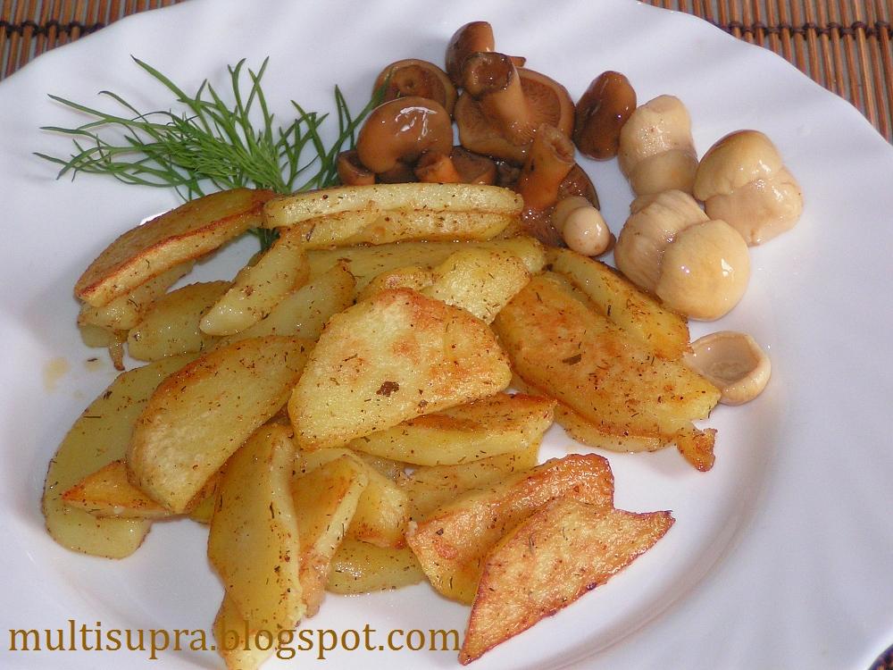 рецепты картошки в мультиварке супра